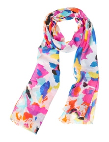 Amber Rose Abstract Print Scarf