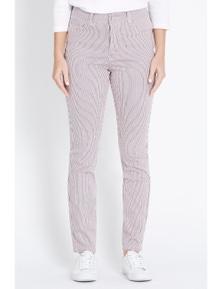 Rockmans Full Length Printed Stripe Jean