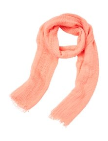 Amber Rose Open Weave Scarf