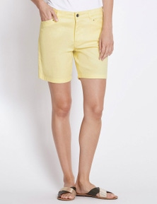 Rockmans Mid Thigh Solid Colour Short