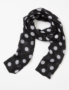 Amber Rose Sequin Spot Scarf