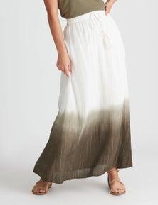 Rockmans Maxi Ombre Skirt