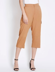 Rockmans 7/8 Length Pocket Detail Cargo Pant