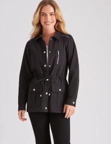 Rockmans Long Sleeve Utility Jacket