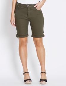 Rockmans Knee Length Mirage Short