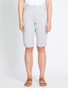 Rockmans Knee Length Stitched Waist Short