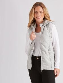 Rockmans Sleeveless Puffer Jacket