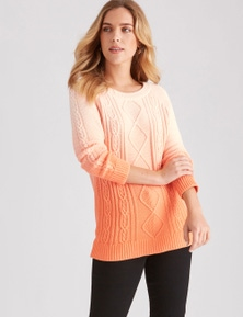 3/4 COLOUR POP KNIT