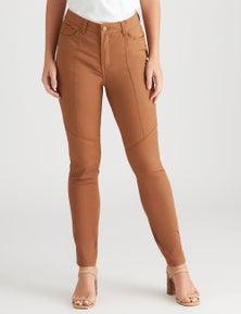 Rockmans Full Length Panelled Jean