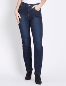 Rockmans Full Length Comfort Waist Regular Jean