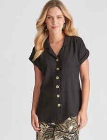 Rockmans Extended Sleeve Utility Shirt