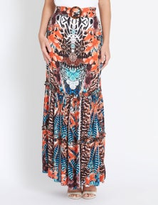 Rockmans Maxi Length Inca Skirt