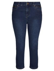 Rockmans Crop Comfort Waist Jean