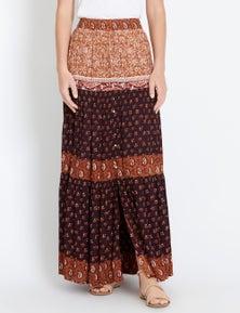 Rockmans Cairo Maxi Skirt