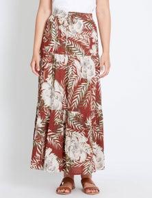 Rockmans Maui Maxi Skirt