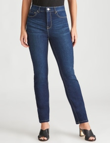Rockmans Short Length Comfort Waist Jean