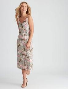 Rockmans Sleeveless Linen Midi Dress