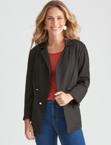 Rockmans Long Sleeve Military Blazer