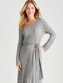 Table Eight Long Sleeve Knit Dress
