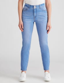 Rockmans Full Length Slim Leg Jean