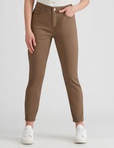 Rockmans Full Length Diagonal Skinny Jean