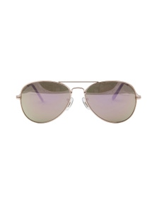 Amber Rose Bree Sunglasses - Rose Gold