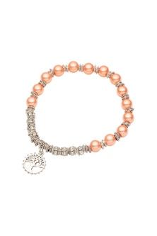 Amber Rose Sunset Bead Bracelet