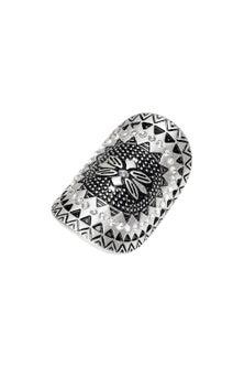 Amber Rose Aztec Statement Finger Ring