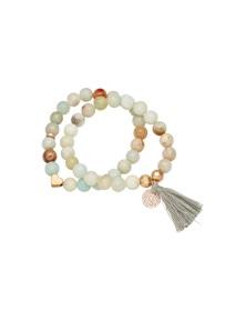 Amber Rose Mandalay Stretch Bracelet Set
