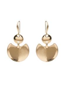 Amber Rose Scoop Earrings