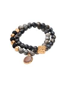 Amber Rose Double Stone Bracelet
