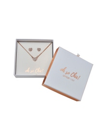 Amber Rose Hot Buy Earring & Necklace Boxed Set