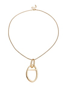 Amber Rose Linked Into Pendant