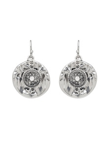 Amber Rose Love You To The Moon Drop Earring