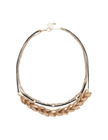Amber Rose Field Of Flowers Multistrand Necklace