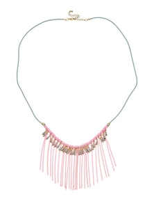 Amber Rose Multi Fringe Necklace