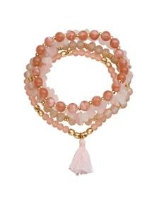Amber Rose Stretch Bracelet