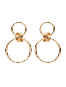 Amber Rose Tie A Knot Earrings