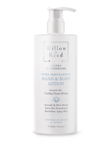 Willow + Reed PURE INDULGENCE HAND & BODY LOTION