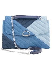 Amber Rose Patch Shoulder Bag