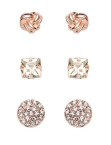 Amber Rose Basic Earring Set