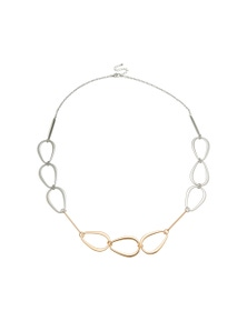 Amber Rose Chain Rope Necklace