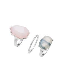 Amber Rose Romance Finger Ring Set