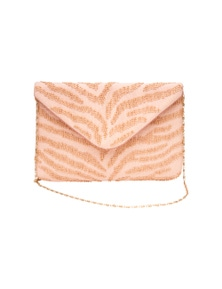 Amber Rose Night Out Beaded Clutch