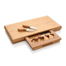 Stanley Rogers 5pc Bamboo Cheese Board Set