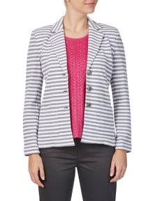 W.Lane Stripe Blazer