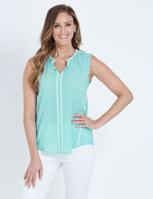 W.Lane Embroidered Blouse