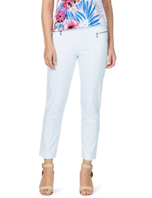 W.Lane Zip Detail Ankle Pant