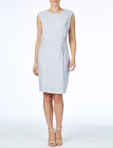 W.Lane Diamond Print Dress