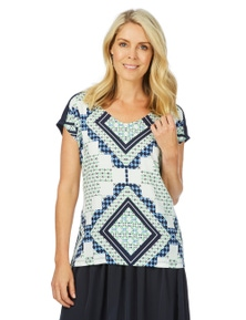 W.Lane Printed Comfort Shirt